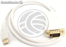Mini DisplayPort Cable male to male VGA 1 m (YQ21)