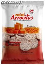 Mini galletas de arroz. Mini arrocitas