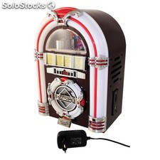 Mini Jukebox Radio/Cd/Usb/Sd. Cambia de color OFERTA