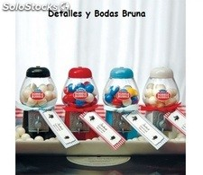Mini Maquinas de Chicles. Detalles Boda Comunion