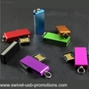 Mini memoria usb 2.0 giratoria 16gb
