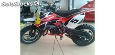 Mini Motos - Minimoto Cross Imr Bull Bike 49 C.c. 2t. Rojo