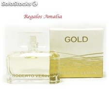 Mini perfume Gold by Roberto Verino. Liquidación de stock