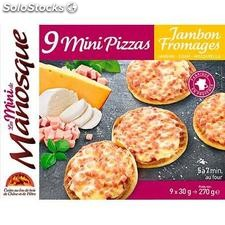 Mini pizzas j/fro.X9 270G