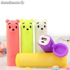 Mini power bank oso lindo