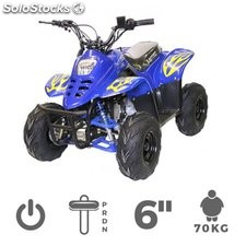 "Mini quad 125cc BIGFOOT luz 6"" RG + automático 