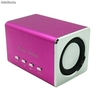 Mini Sound Box Mobile Spekar 6w Rms Microsd Pendrive Mp3