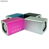 Mini Sound Box Mobile Spekar 6w Rms Microsd Pendrive Mp3 - Zdjęcie 2