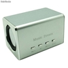 Mini Sound Box Mobile Spekar 6w Rms Microsd Pendrive Mp3 - Zdjęcie 3