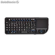 Mini teclado Bluetooth con touchpad