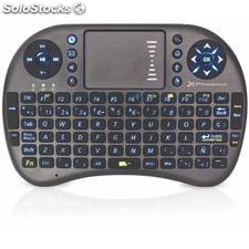 Mini teclado inalambrico wireless retroiluminado p