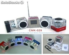 mini usb sd altavoz multimedia pc speaker cmk029