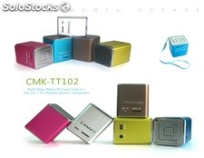 mini usb sd altavoz multimedia pc speaker cmktt102