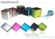 mini usb sd altavoz multimedia pc speaker cmktt106