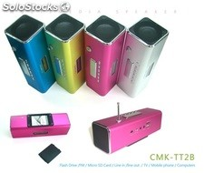 mini usb sd altavoz multimedia pc speaker cmktt2b