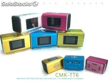 mini usb sd altavoz multimedia pc speaker cmktt6