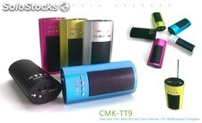 mini usb sd altavoz multimedia pc speaker cmktt9