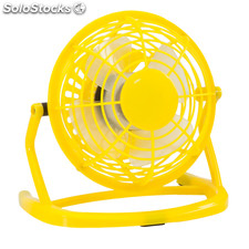 Mini ventilador. Yellow