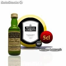 Miniatura whisky William Lawson's para regalos de bodas