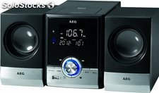 Minicadena Cd Mp3 Usb bt aeg MC4461 - Negro