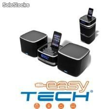 Minicomponente jensen con radio/despertador/dock ipod/iphone!!!