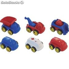 Miniland educational coches infantiles bote 6 ud minicoches 27490