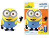 Minions Night Light 3AA LED Multicolor luz nocturna para bebés
