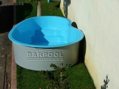 Minipiscina estanque spa prefabricada barpool a 3 for Mini piscinas prefabricadas