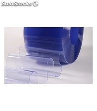 Minirrollo de pvc flexible transp. de 200mm ancho x 3mm espesor