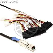 MiniSAS Cable-hd-4X SFF8644 to SFF8482 SAS 2m (GA42)