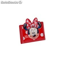 Minnie infantil Billetero Velcro Ha