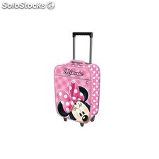 Minnie infantil Maleta Trolley Soft