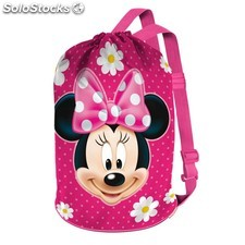 Minnie infantil Saco Petate Flowers