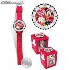 Minnie Mouse Analog-Uhr 4 in 1