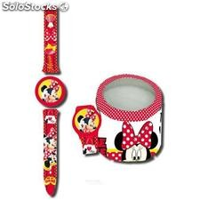 Minnie Mouse Armbanduhr in Metal Box