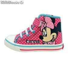 Minnie Mouse Canvas Boots