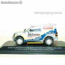 Mitsubishi pajero dakar 2001 shinozuka gallagher 1/43 (defecto