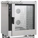 Mixed convection gas oven/direct steam for gastronomy and pastry-mod.