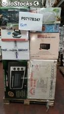 Mixed pallets of small home appliances and cooling/heating items - tested and wo