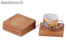 Mk Bamboo luxemburg - Coaster Set (4 pcs)