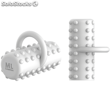 Ml creation finger usb rechargeable white