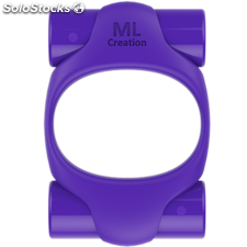 Ml creation power ring usb rechargeable purple