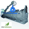 Mobile Car and scrap Baler roter. Serie RR5 Used-Demo