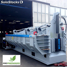Mobile Car and scrap Baler roter. Serie RR6 Used-Demo