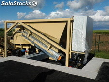 Mobile cold asphalt mixing plant SUMAB