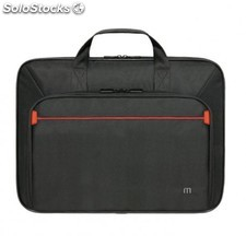 "Mobilis - Executive 2 One Clamshell 18"""" Maletín Negro, Rojo"