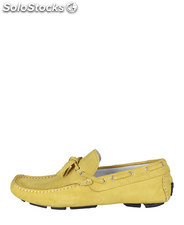mocasines hombre made in italia amarillo (42121)