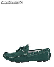 mocasines hombre made in italia verde (42119)