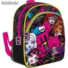 Mochila 2 Departamentos Monster High Faces""""