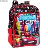 Mochila Adaptable 40cm Disney Cars Neon""""